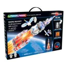 LASER PEGS Kit per l'edilizia Mars Rocket