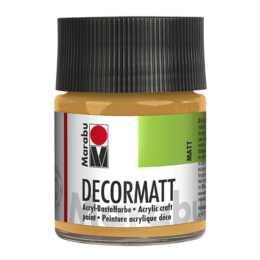 MARABU Decormatt Acryl, 50 ml, metallic gold