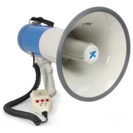 VONYX MEG060 (60 W, Megafon, Weiss, Blau, Schwarz)