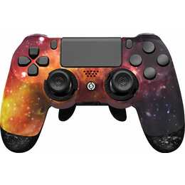 SCUF GAMING Infinity 4PS Pro - Supernova Gamepad (Orange, Violett)