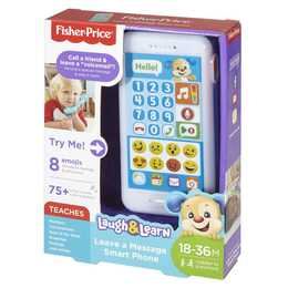 FISHER-PRICE Frühes Lernspielzeug Smartphone Leave A Message