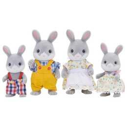 SYLVANIAN FAMILIES Cottontail Rabbit Family (4 pezzo)
