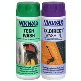 NIKWAX Cura per i tessuti Tech Wash & TX.Direct Wash-In (0.3 l)