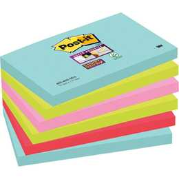 POST-IT Haftnotizen Super Sticky Miami (Farbig assortiert)