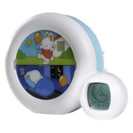 PABOBO KidSleep Moon (Bianco, Multicolore, Sveglia per bambini)
