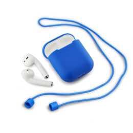 QDOS Pocketpod AirPods Tasche (Blau)