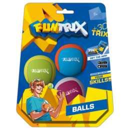BELUGA Fun Trix Jonglierbälle Set 5.5 cm