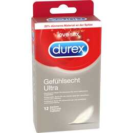 DUREX Préservatifs Gefühlsecht Ultra (12 Stk)