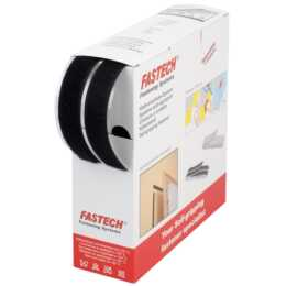 FASTECH Klettband-Rolle 10 m x 20 mm selbstklebend