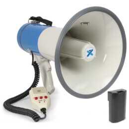 VONYX MEG065 (65 W, Megafon, Blau, Weiss, 1200 m)