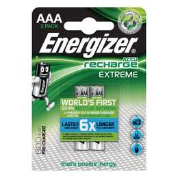 ENERGIZER Extreme Batterie (AAA / Micro / LR03, 2 Stück)