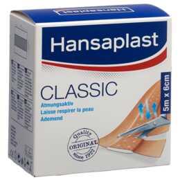 HANSAPLAST Classic Sparadrap 5mx6cm