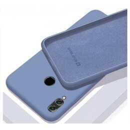 EVELATUS Backcover Soft Silicone (Mi A3, Blau)