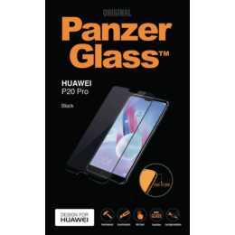 PANZERGLASS Verre de protection d'écran Huawei P20 Pro (Black, Cristallin)