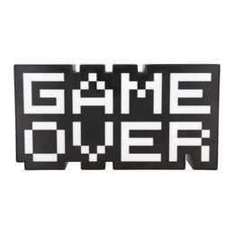 PALADONE Luce d'atmosfera LED Game Over (Bianco, Nero)