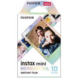 FUJIFILM Instax Mini Film Mermaid Tail Sofortbildfilm (Instax Mini, Mehrfarbig)