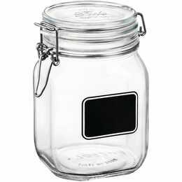 LIVIQUE Vorratsglas Lavagne (1 l, Glas)