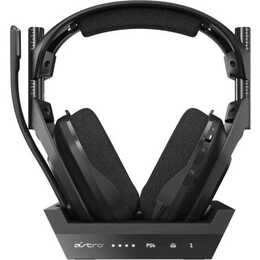 ASTRO GAMING A50 (Over-Ear, frequenza radio, Nero)