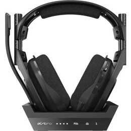ASTRO GAMING A50 (Over-Ear, radio-fréquence, Noir)