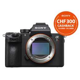 SONY Alpha 7R III Body (42.4 MP, WLAN)
