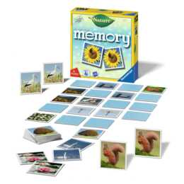 RAVENSBURGER Natur Memory Spiel