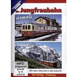 Die Jungfraubahn damals (DE)