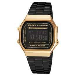 CASIO Collection A168WEGB-1BEF (Digitaluhr, 36.3 mm)