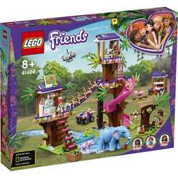 LEGO Friends La base de sauvetage dans la jungle (41424)