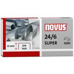 NOVUS STRAETER 24/6 (1000 Stück)