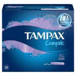 TAMPAX Compak Tampon (22 Pièce, Mini)
