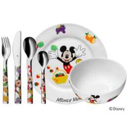 WMF Kinderbesteckset Mickey Mouse (6 Stück)