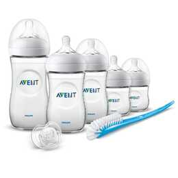 PHILIPS AVENT Babyflasche Natural Starter-Set (125 ml, 330 ml, 260 ml, Polypropylen)
