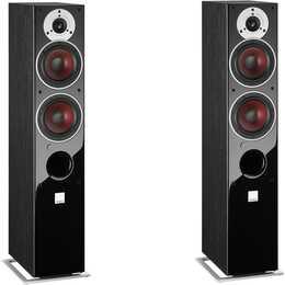 DALI Zensor 5 AX (100 W, Standlautsprecher, Schwarz)