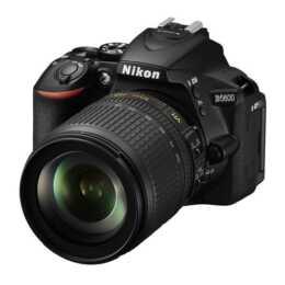 NIKON D5600 + AF-S DX 18-105mm VR (24.2 MP, Bluetooth 4.1, NFC, WLAN), Ausstellermodell