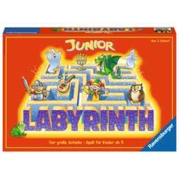 Labirinto RAVENSBURGER Junior Labirinto