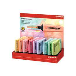 STABILO Textmarker Boss (Mehrfarbig, 45 Stück)