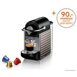 KRUPS Pixie Titan 2 XN304T (Nespresso, Grigio titanio)