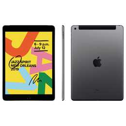 "APPLE iPad WiFi + LTE, 10.2"", 128 GB, Space Grau (2019)"