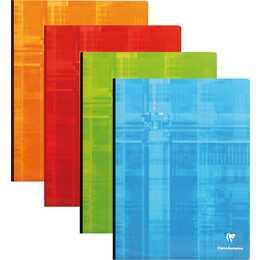 CLAIREFONTAINE Notizbuch (A4, Kariert)