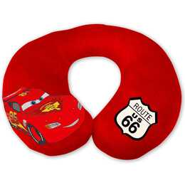 EURASIA Kopf- & Nackenkissen Cars (Rot)