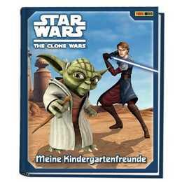 PANINI Freundschaftsbuch Star Wars The Clone Wars