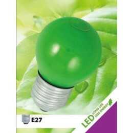 ELECTROMATERIAL Lampe de fête LED Mini Globe 1.2W E27 Vert
