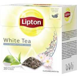 LIPTON Tè bianco (Bustina di tè, 20 pezzo)