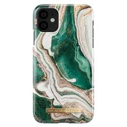 IDEAL OF SWEDEN Backcover Golden Jade Marble (iPhone 11, Multicolore)