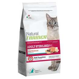 TRAINER Feline Sterilised Salmon Trockenfutter (Adult, 1.5 kg)