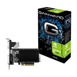 GAINWARD SilentFX Nvidia GeForce GT 730 (1 Go, Midrange)