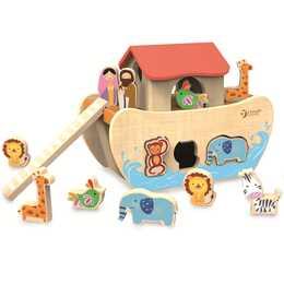 CLASSIC WORLD Steckspielzeug Arche Noah