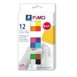 STAEDTLER Pâte Fimo Soft Colour Pack (Multicolore, 25 g)