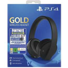 SONY Wireless Headset Gold Edition: Fornite Neo Versa Bundle (Over-Ear, Bluetooth, Schwarz)