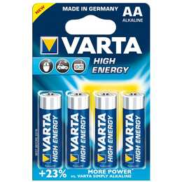 VARTA High Energy Batterie (AA / Mignon / LR6, 4 pièce)